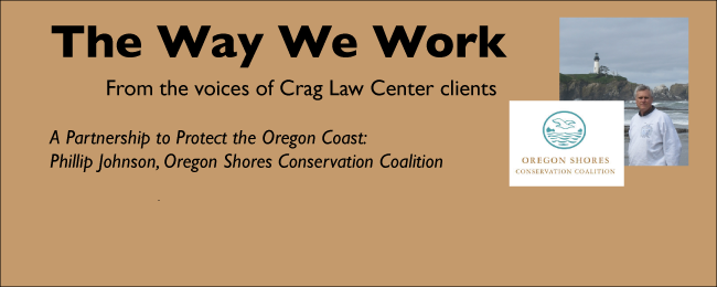 The Way We Work: Phillip Johnson, Oregon Shores