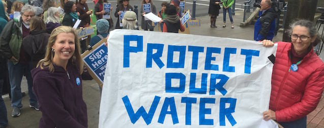 Crag Represents Group in Pushing Water Protection Measure