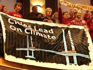 Cities Lead on Climate Sign
