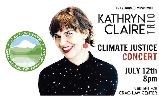 Climate Justice Concert: Kathryn Claire