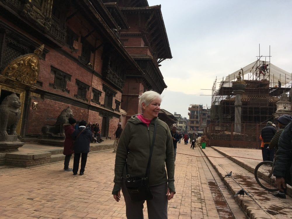Patricia Donohue in Nepal
