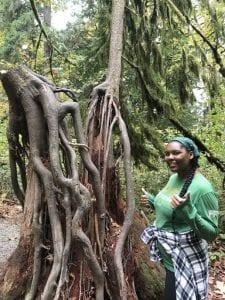 Ka'sha & tree