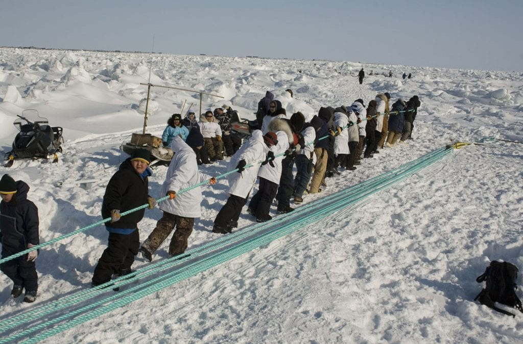 Crag Fights with Inupiat Communities for the Second Time