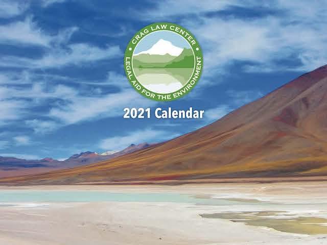2021 Crag Calendar