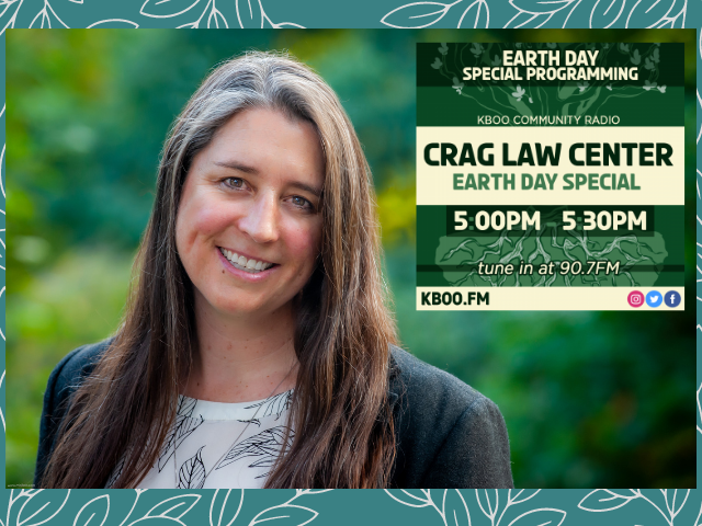 Listen to Courtney's Earth Day interview on KBOO