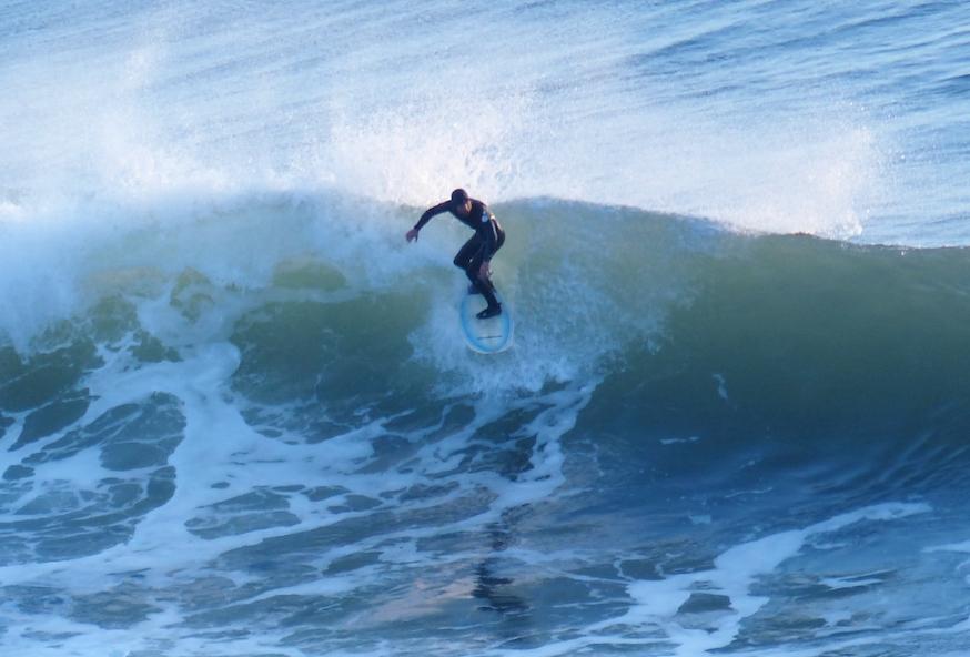Charlie Plybon Surfing