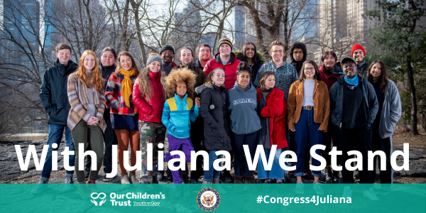 20 youth plaintiffs of the juliana v. us case